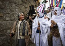 José Vicente / ICAL Celebración de Mascarávila en la localidad de Navalosa(Ávila)