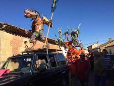 Casaseca de las Chanas(Zamora): Concurso de carrozas en Casaseca de las Chana.