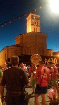 Segovia: Fiestas en el barrio de San Lorenzo.