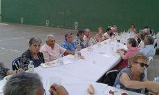 Carbellino (Zamora). Fiesta de los Mayores de 80 años organizada por la Asociación de Mujeres de Carbellino el 5 de agosto.