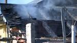 Fallece un hombre en el incendio de una vivienda en Castropodame, León