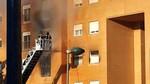 Trasladan a Valladolid a la mujer quemada en el incendio de Pinilla