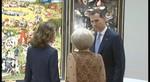 Los Reyes y la Princesa Beatriz de los Pa�ses Bajos inauguran la exposici�n del Bosco en el Prado