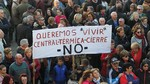 Cientos de personas reclaman en Velilla la continuidad de la térmica
