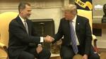 Trump dice ante los Reyes que viajará a España y destaca la 'relación excelente' entre los países