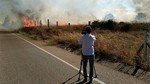 Controlado el fuego declarado esta tarde en una zona de rastrojos entre León y La Virgen del Camino