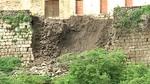 Parte de la muralla medieval de Ledesma se viene abajo por las lluvias