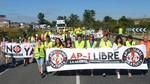 Más de medio centenar de personas corta la N-1 para pedir la liberalización de la AP-1
