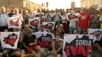 Soria ¡YA! pagará las multas de los sancionados en la concentración de Villaciervos