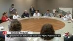 PSOE, Podemos e IU llevar�n a las Cortes una bater�a de iniciativas en defensa de la sanidad p�blica