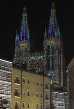 Más de 120 propuestas culturales iluminaron la XI Noche Blanca de Burgos