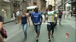 Alrededor de un centenar de personas caminan por la hospitalidad en Valladolid