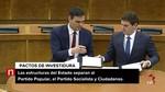 Las estructuras del Estado separan a PP, el PSOE y Ciudadanos