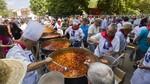 Alrededor de 10.000 personas asisten a la Judiada de La Granja en una jornada marcada por el calor