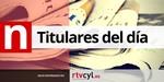 Estos son los titulares de la prensa de Castilla y León