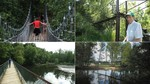 Los viejos puentes colgantes que cosen El Bierzo
