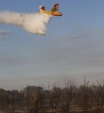 El incendio de Vega de Tera sigue activo aunque en nivel 0