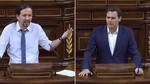 Pablo Iglesias y Albert Rivera se enzarzan en descalificativos mutuos