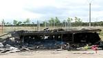 El fallecido en la atracción de Cabrillas prendió fuego al remolque para 'cobrar el seguro'