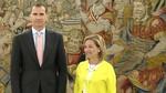 Nueva Canarias ve al Rey 'preocupado', m�s que en enero, y no sabe si habr� candidato esta semana