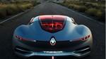 Renault presenta su nueva gama de veh�culos en Par�s, con el concept-car TREZOR