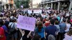 Alrededor de 1.600 personas salen a la calle en Valladolid para clamar contra la liberación de los integrantes de 'La Manada'