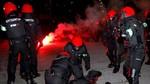 Muere un ertzaina tras los incidentes registrados en las inmediaciones de San Mamés