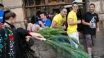 Más de 300 mujeres toman el mando en Vinuesa en la tradicional 'Pinochada'