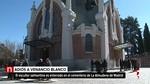 Familiares y amigos despiden a Venancio Blanco en el cementerio de la Almudena de Madrid