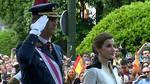 V�tores al Rey y abucheos a Carmena en el D�a de las Fuerzas Armadas