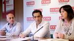 Andrés advierte a Cecale de que 'la avaricia rompe el saco' y CCOO reaccionará ante 'la injusticia'