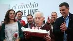 Fallece el hist�rico socialista berciano Antonio Fern�ndez a los 100 a�os de edad