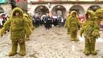 Los 'Hombres de Musgo' vuelven a recorrer las calles de B�jar