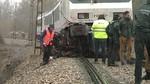 Al menos una persona muere en León al ser arrollado su coche por un tren en Valverde de la Virgen