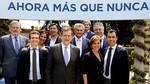 Rajoy presenta a los candidatos 'n�mero uno' del PP en las listas al Congreso