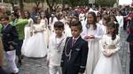 Decenas de procesiones recorren Castilla y Le�n en el Corpus