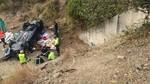 Un muerto en un accidente al salirse de la vía el coche en el que viajaba en la AP-66 en Los Barrios de Luna, León