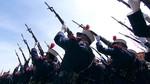 Aplausos a los Reyes en un desfile de las Fuerzas Armadas que homenajea a las víctimas del Yak-42