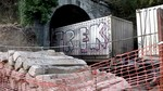 Interrumpido el tráfico ferroviario en la línea León-Gijón por el descarrilamiento de un tren de mercancías