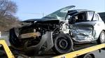 Dos heridos al chocar un camión y un turismo en la VA-140 en Renedo de Esgueva