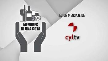 CyLTV se une a la campaña 'Menores ni una gota'