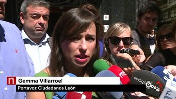 Cs rechaza la moción de censura en León porque 'no estamos todavía en ese momento'