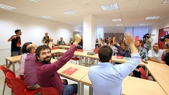 Jos� Sarri�n, 'orgulloso' por ser elegido por los militantes