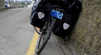 Una pérdida, el dolor, una bicicleta, miles de kilómetros y un objetivo