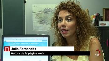 Una leonesa crea una web de intercambio de ropa y material escolar
