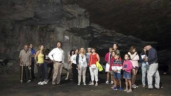 Se abren al público las canteras de Hontoria-Cubillo que abastecieron durante años a la catedral de Burgos