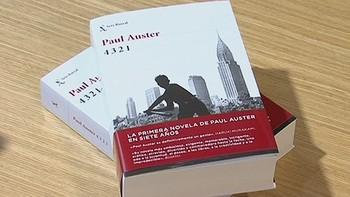 Paul Auster presenta su nueva novela en España