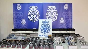 Detenido en Miranda de Ebro con 17 relojes de marca falsificados