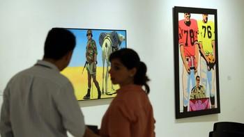 24 artistas de todo el mundo presentan su arte más 'pop' en un exposición única en el Patio Herreriano