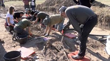 Exhumación de los cuerpos de siete personas represaliadas en Cobertelada